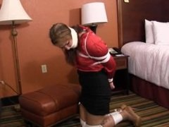 Belle Davis Tied Up Babysitter