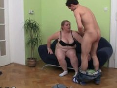 Big Belly Fatty From SEEKBBW.NET Takes it from Behind