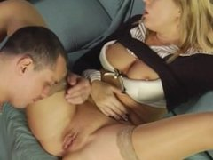 Cougar Anna Gets A Cock Surprise While Home Alone HD