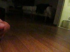 Cumshot in slow motion finals masturbation