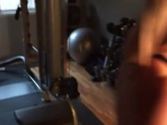 Blonde gets it in the Gym