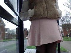Une jupe trop legere
