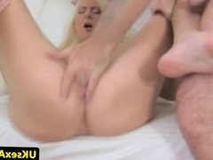 Fingered euro squirts after rimming agents