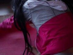 Flexible Girl Loves Her Dildo