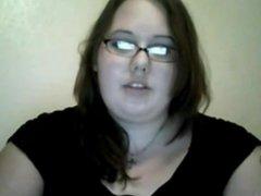 Cute Horny Fat BBW Teen GF masturbating her Wet pussy-1