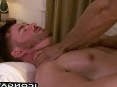 Brendan having sex on the massage table with a horny masseur