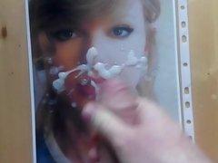 Cum Tribute 2 on Taylor Swift