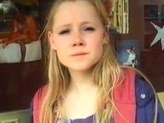 amateur teen blonde fuck for money - hotcamteen.com