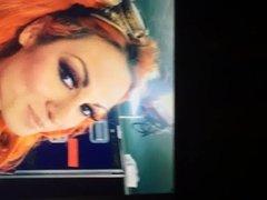 Becky Lynch Cum tribute