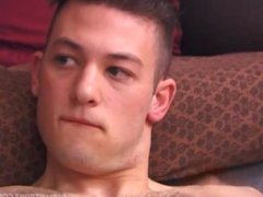 Young and Hairy Jeremy Jerks Off and Cums