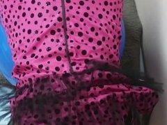 Simatra Crossdresser Anal Pink Panties Bareback #1