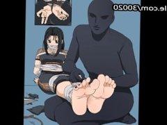 Foot fetish Art work tickeling hentai collection vol 1