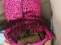 Simatra Crossdresser Anal Pink Panties Bareback #2