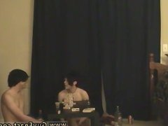Threesome gay adult porn site Trace and William get together with their