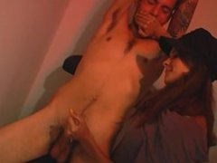 milking hand over mouth