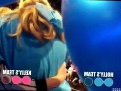 Fetish people Gagged, Blindfolded TV Show..