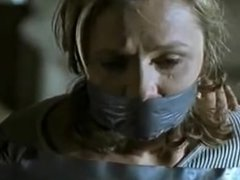 women wrap gagged and bound