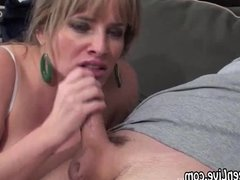Maggie Green Takes Laundry Break for Some Cock!