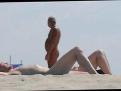 Nude beach couple 1 1fuckdatecom