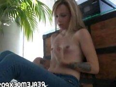 Laney gets naked on the floor m 1fuckdatecom
