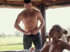 Holly Kiss Milf Having Sex In Water