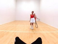 Naked Racquetball with Dillion Harper and Pristine Edge