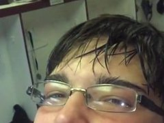 Average Asian Boy Licking His Self