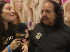 Phoenix Marie & Ron Jeremy at eXXXotica 2015 with Pornhub Aria PornhubTV