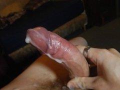My Cock Cumming a Massive Load