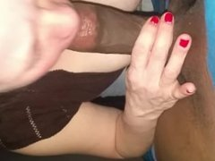 white girl sucking black pt.1