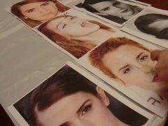 Cumshot Tribute: Emma Watson #2