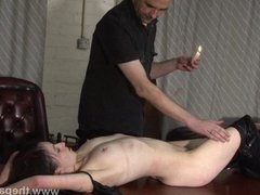 Amateur bdsm and bedroom spanking of submissa