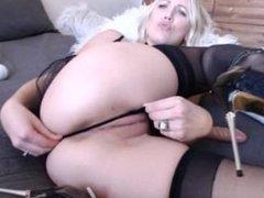 anal blonde princess