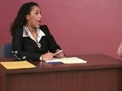 bitchy secretary monique tied up and gagged