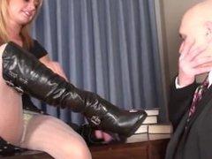 teacher has foot fetish