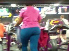 Nothin Like A Big bOOty On Treadmill :-)
