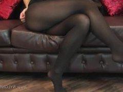 Angelina Nylon Butt 1