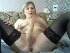 Russian milf on webcam