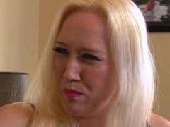 Alana Evans Busty Blonde Nailed