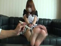 japanese maid tickling