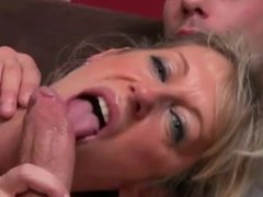 One of the most beautiful MILF with young guy- 1