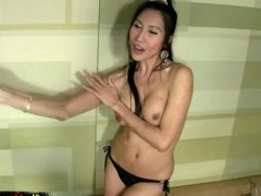 Thai ladyboy lovers suck each others shecock