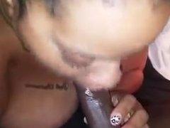 Bbw blow job