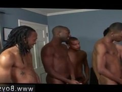 Black gay gang bangs Joseph Jacobs the Bukkake God