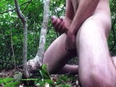 Bi-Curious Plays in the Woods and Cums