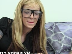 Im nerdy but I get horny too JOI