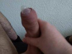 Condom under foreskin cum