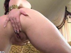 Big Tit MILF Strip And Solo