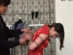 chinese girl bound