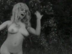swedish retro classic 60s rare blonde big boobs